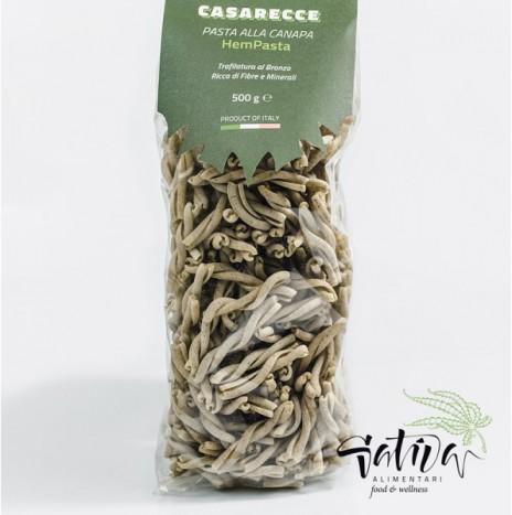 Pasta alla Canapa 500gr CASERECCE Sativa Alimentari