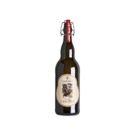 Birra Agricola alla Canapa – Chiara Canapils 50cl