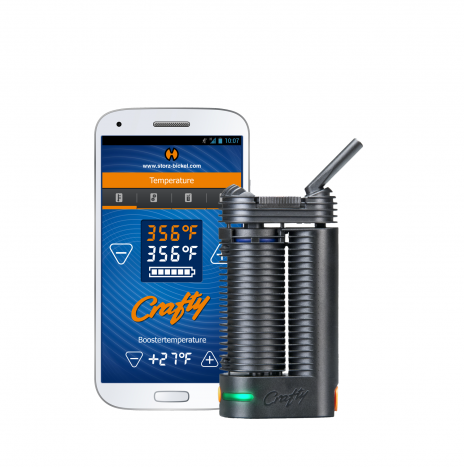 Storz & Bickel CRAFTY – Portable Herb Vaporizer