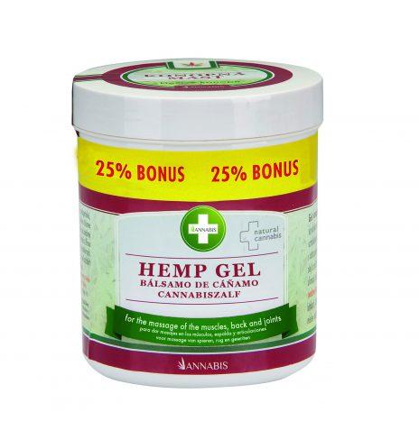 Annabis HEMP GEL – Balsamo per Massaggi e Dolori Muscolari 300ml + 75ml