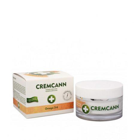 Annabis CREMCANN OMEGA 3 e 6 – Crema Rigenerante e Idratante