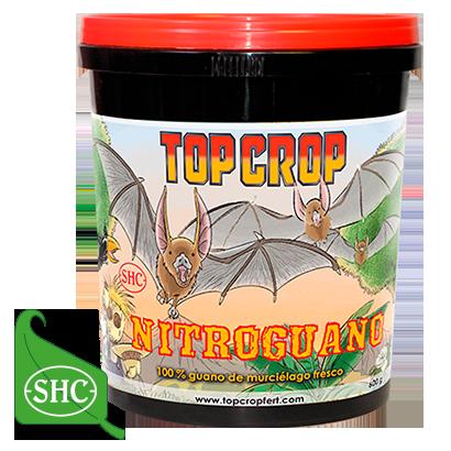 Top Crop NITROGUANO 600gr Ammendante a Base di Guano di Pipistrello