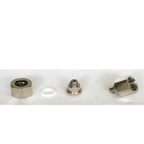 Adattatore Passo 11×1.5 per Collegare il Riduttore di Pressione alle Bombole Ricaricabili
