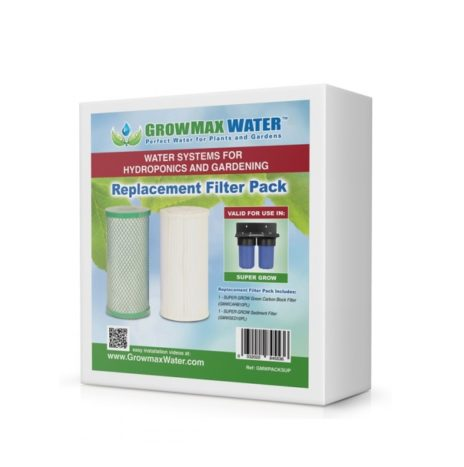 GrowMax Water Filters Pack (Sedimenti GMWSED10PL + Carbone GMWCARB10PL)