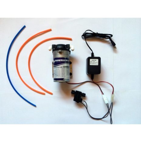 GrowMax Water Kit Pompa Bassa Pressione (GMWROPUMPKIT) per Sistemi a Osmosi Inversa
