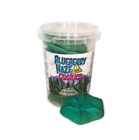 CannaShock – Blueberry Haze Cookies with Cannabis 120gr