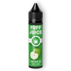 CannaBe Puff Juice Aroma Mela Verde