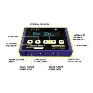 Lumatek Control Panel Plus 2