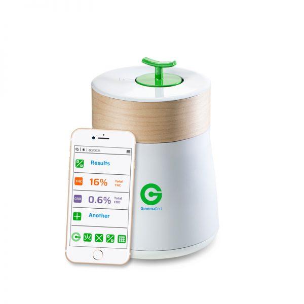 GemmaCert Pro misurare livelli cannabinoidi