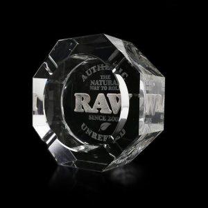 Posacenere in cristallo RAW