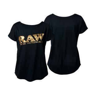 Shirt Black Gold RAW