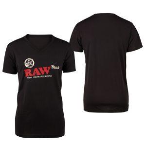 T Shirt Raw Uomo scollo a v