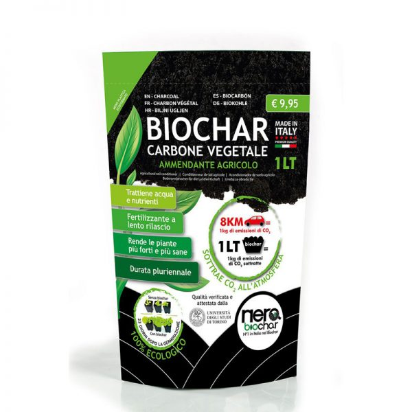 Carbone Vegetale Nerabiochar