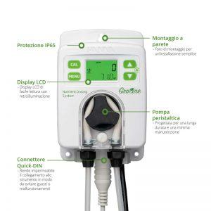 Regolatore Nutrienti EC Pompa Hannah Instruments