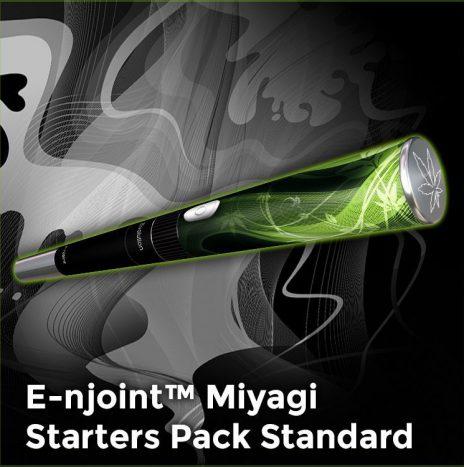 E-njoint – MIYAGI Wax Vaporizer – Starters Pack STANDARD