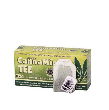 Hanf Zeit CannaMint Tea – Confezione 25 Bustine Monodose