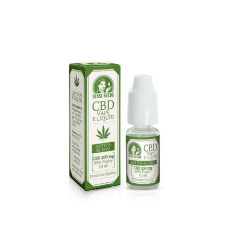 Sensi Seeds CBD E-Liquid 2% Flacone da 10ml con 200mg di CBD