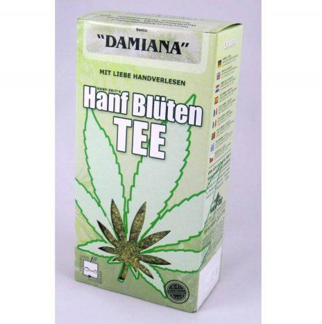Hanf Zeit Tea DAMIANA – Confezione da 50gr