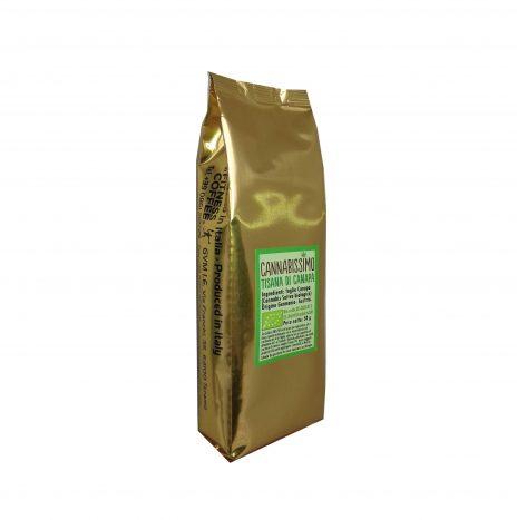 Cannabissimo Tisana Biologica con Foglie di Canapa – Confezione da 50gr.