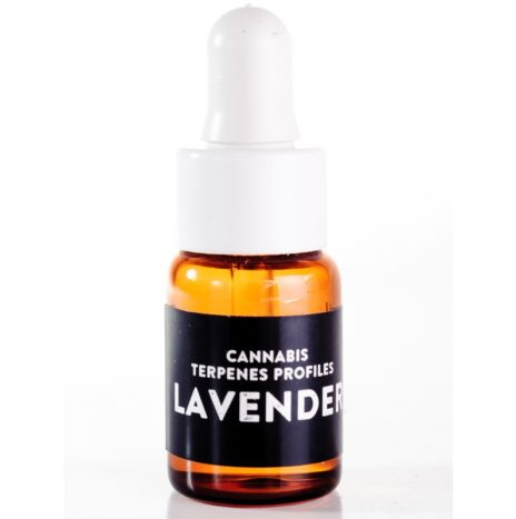 Cali Terpenes LAVENDER (Super Skunk x Big Skunk Korean x Afghani x Hawaiian) Profili Terpenici di Cannabis