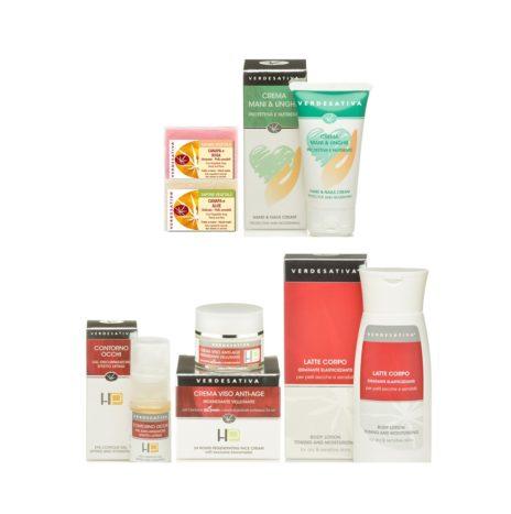Pacchetto Donna: Kit con 6 Cosmetici Naturali alla Canapa