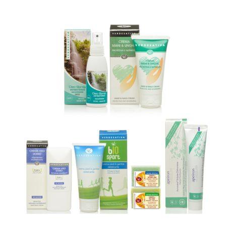 Pacchetto Uomo: Kit con 7 Cosmetici Naturali alla Canapa