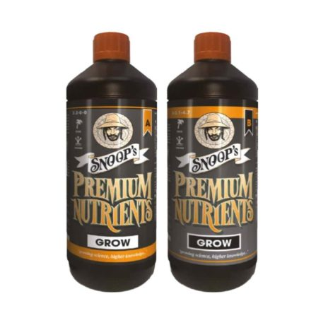 Snoops Premium Nutrients GROW A&B Concime per la Crescita