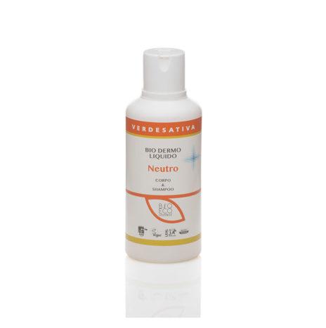 Biodermoliquido NEUTRO, per Corpo e Shampoo 500ml