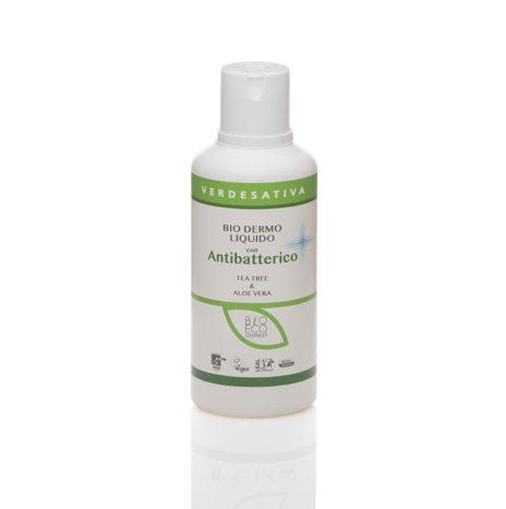Biodermoliquido con ANTIBATTERICO, con Tea Tree & Aloe Vera 500ml