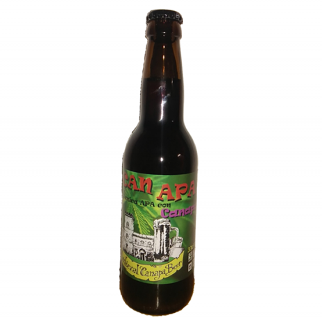 Medieval Canapa Beer Birra Artigianale APA con Canapa 33cl