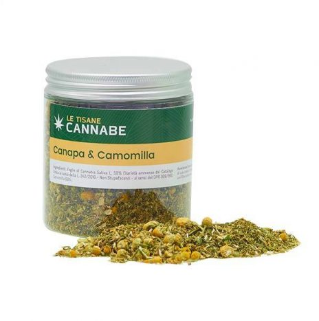 CannaBe Tisana TAKE IT EASY Canapa e Camomilla 30gr