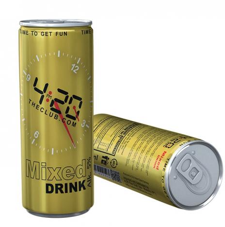 420 Mixed Drink Bevanda Alcolica alla Canapa 25cl