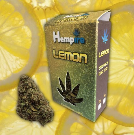Hempire LEMON Cbd 18,2% Infiorescenze di Cannabis Light