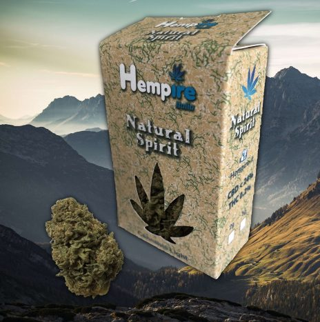 Hempire NATURAL SPIRIT Cbd 20% Infiorescenze di Cannabis Light