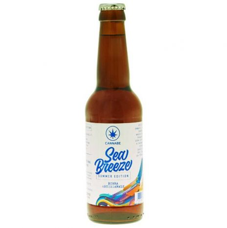 CannaBe Birra SEA BREEZE alla Canapa 33cl