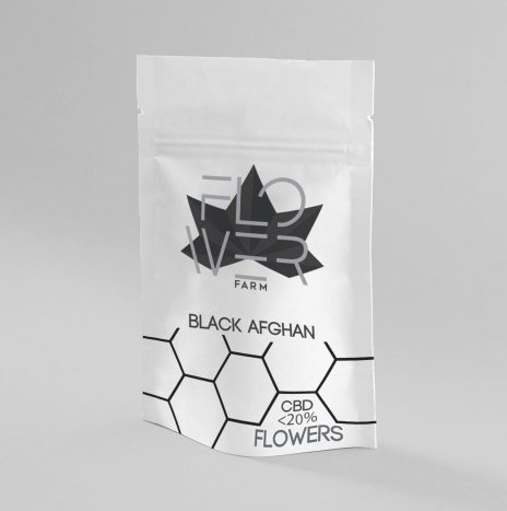 Flowers Farm BLACK AFGHAN CBD <20% Legal Hash