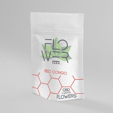 Flowers Farm REDCONGO CBD <20% Legal Hash