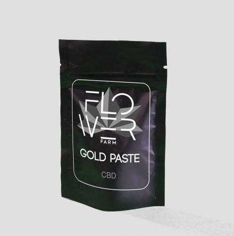 Flowers Farm GOLD PASTE CBD 30% Pasta Cruda Non Decarbossilata